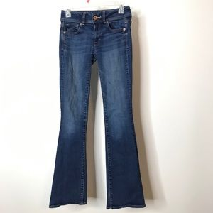 American Eagle Outfitters Kick Boot Jeans Size 0